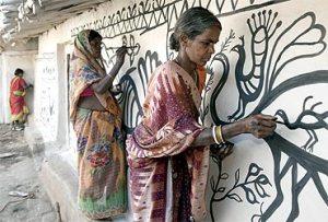 Jharkhandi wall art